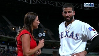 Nomar Mazara hits three doubles in win over Orioles