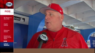 Scioscia on Angels struggles: 'We need to get our game in order'