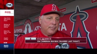 Angels Live: Scioscia is hopeful Cameron Maybin will be back sooner than later