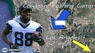Dez Bryant on Cowboys being near Los Angeles