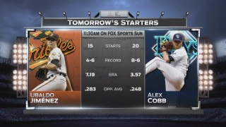 Rays, Orioles go at it early in series finale Wednesday
