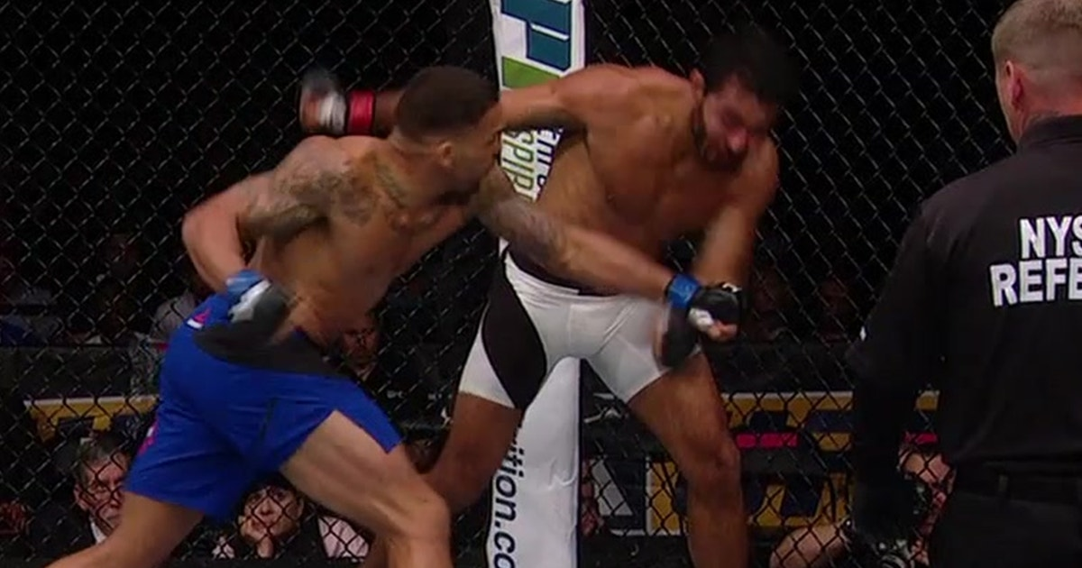 Eryk Anders wins UFC debut via brutal KO | UFC FIGHT NIGHT | FOX Sports