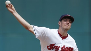 HIGHLIGHTS: Bauer throws season-high eight innings on way to win
