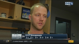 Brad Boxberger: 'Everyone is one step closer to where we want to be'