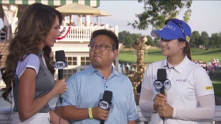 Low amateur Hye-Jin Choi talks with Holly Sonders | 2017 U.S. Women's Open