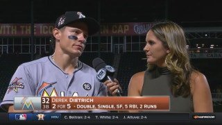 Derek Dietrich says win over Rangers shows what Marlins offense is capable of