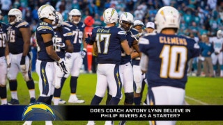 Does Anthony Lynn not believe in Philip Rivers?