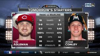 Adam Conley gets the call for Marlins on FS1