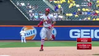 WATCH: Tommy Pham provides all the Cards' offense