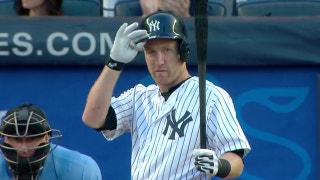 Todd Frazier hits into a triple play in his first home at-bat at Yankee Stadium