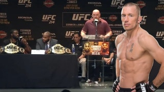 Dana White announces who GSP's next opponent will be