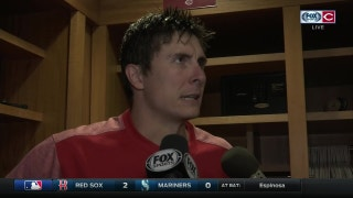 Homer Bailey discusses his outing vs Yankees