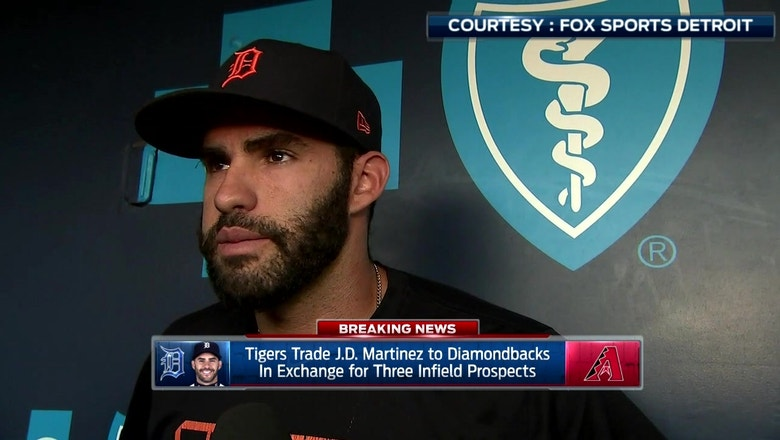 J.D. Martinez talks move to Arizona