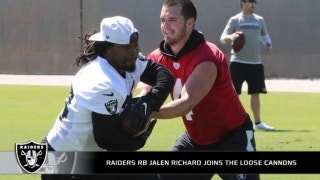 Jalen Richard on the Raiders' running back situation in 2017