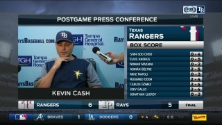 Kevin Cash: '3 in a row, tough losses'