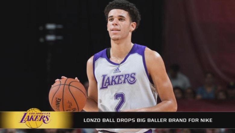 Lonzo Ball drops BBB to wear Nike shoes in Summer League