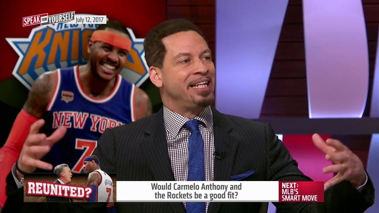 Here's why Carmelo Anthony would not be a good fit for the Houston Rockets | SPEAK FOR YOURSELF