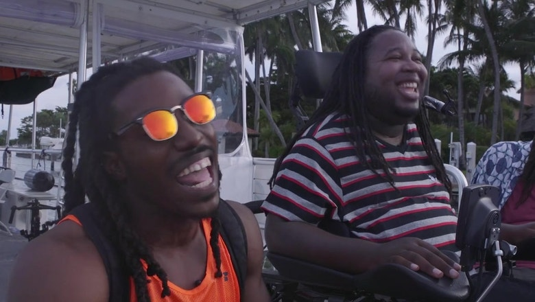 'Mission Possible' with Eric LeGrand: 'Ballers' premiere with Jeremie Thomas -- and meeting The Rock