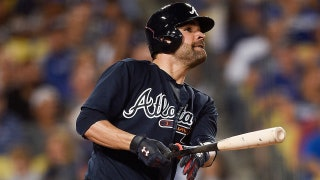 WATCH: Pitcher Jaime Garcia homers in Braves' rout of Dodgers