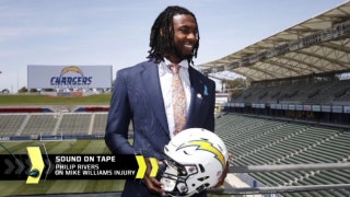 Philip Rivers on Mike Williams' injury