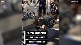 These guys can probably lift more than you | CFB ON FOX