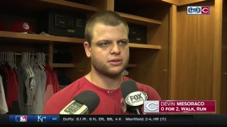 Reds' Devin Mesoraco praises Luis Castillo for his no-fear mentality
