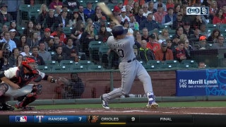 WATCH: Hunter Renfroe takes Bumgarner deep in San Francisco