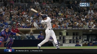 WATCH: Renfroe crushes timely home run as commentators discuss his power