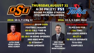 FSSW Big 12 Digital Preview: Oklahoma State vs. Tulsa