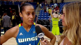 Skylar Diggins on Wings win over Fever