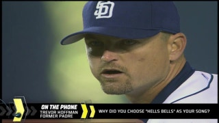 "Trevor Hoffman on how ""Hell's Bells"" became his pitching song"