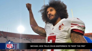 "Michael Vick to Colin Kaepernick: ""Keep the fro!'"