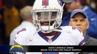 What does the signing of Cardale Jones mean for Philip Rivers?