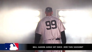 Will Aaron Judge hit below .300 this year?