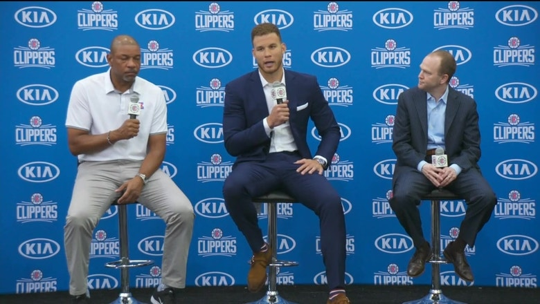 Clippers' Blake Griffin: This is where I want to end my career