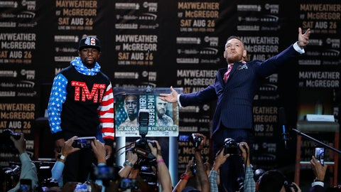 VIDEO: Conor McGregor vs. Floyd Mayweather 1st press conference - who won?