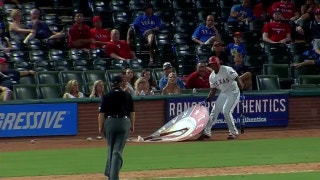 WATCH: Adrian Beltre gets ejected for moving on-deck circle in 8th inning of loss to Marlins