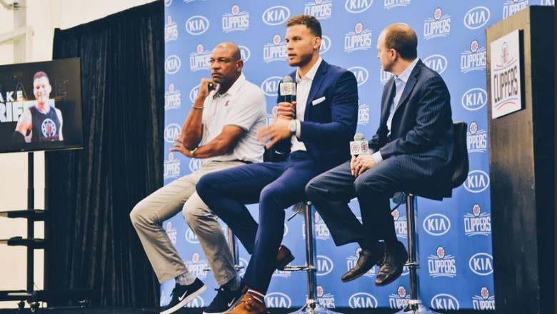 Blake Griffin locked in for long haul with Clippers