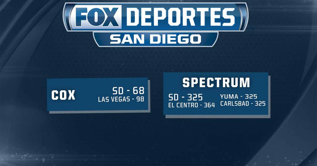 Fox sports san diego and fox deportes san diego channel numbers fox sports san diego and fox deportes san diego channel numbers fox sports solutioingenieria Images