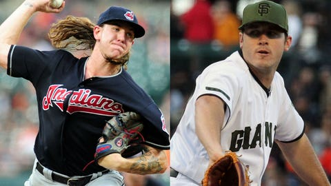Tuesday at Giants: Mike Clevinger vs. Ty Blach
