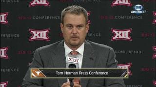 Texas head coach Tom Herman: 'Losing is awful'