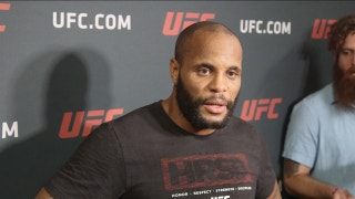 Daniel Cormier was laser focused during his face off with Jon Jones on Friday
