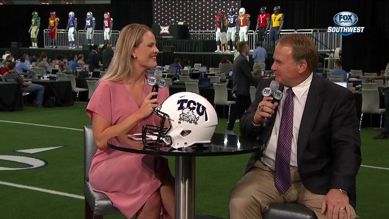 Gary Patterson: I love meeting other players at Media Days