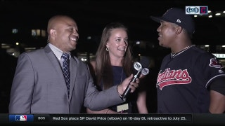 Jose Ramirez jokes that Andre asks too many questions
