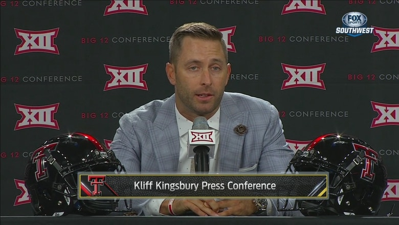 Kliff Kingsbury on what it will take to replace Pat Mahomes