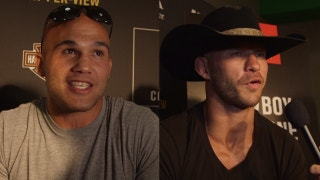 'I've been fighting since I was 8 years old': Robbie Lawler and Donald 'Cowboy' Cerrone share their views on the fight life