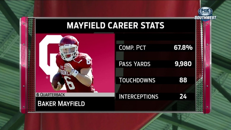 Baker Mayfield on his Big 12 Career: 'It's been a wild ride'