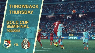 Throwback Thursday: Panama vs. Mexico | 2015 Gold Cup Semifinal