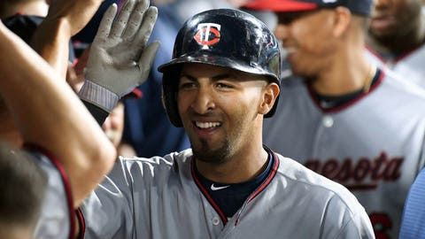 Dozier, Grossman, Colon power Twins past Rangers
