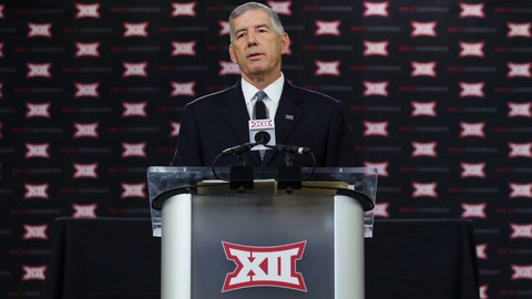 Commissioner Bob Bowlsby pushes back against perception of Big 12